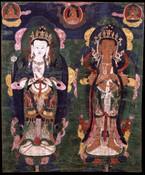 Bodhisattva: (multiple figures)