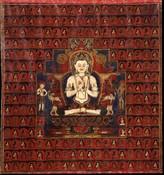 Vairochana Buddha: Sarvavid with 1000 Buddhas