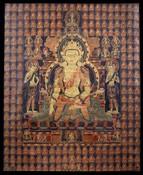 Akshobhya Buddha: (Sarvadurgati Tantra)