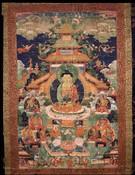 Amitabha/Amitayus Buddha: Amitabha (Nirmanakaya)