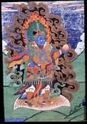 Direction Guardian (Buddist Deity): Virudhaka (South)