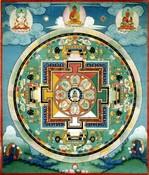 Akshobhya Buddha: Vajra (8 Deity Mandala)