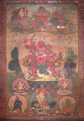 Jambhala (Buddhist Deity): Red (Trapa Ngonshe Lineage)