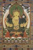 Avalokiteshvara (Bodhisattva & Buddhist Deity): Chaturbhuja (4 hands)