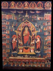 Dipamkara Buddha: (Standing)