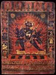 Mahakala (Buddhist Protector): (1 face - 8 hands)