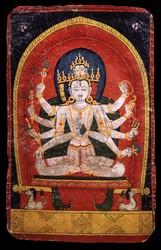 Shiva (Indian God): (five faces)