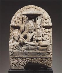 Shiva (Indian God): (wedding scene)