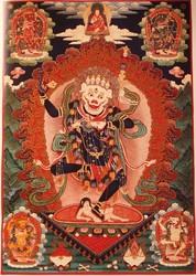 Simhamukha (Buddhist Deity): (5 deity)