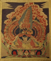Mahottara Heruka (Buddhist Deity): (21 Faces)