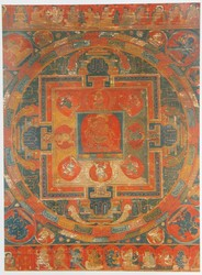 Yamari, Rakta (Buddhist Deity): (Shridara Lineage, 13 Deity)