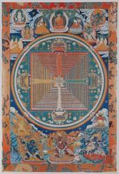 Avalokiteshvara (Bodhisattva & Buddhist Deity): Sodashabindu (Tigle Chudrug)