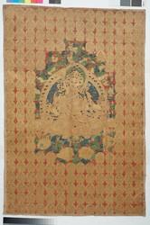 Manjushri (Bodhisattva & Buddhist Deity): Manjuvajra, Namasangiti (1 face, 4 hands)