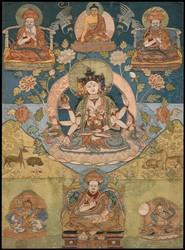 Ushnishavijaya (Buddhist Deity): (Nine Deity Configuration)