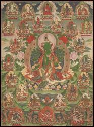 Tara (Buddhist Deity): (Longchen, 21 Taras)