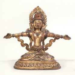 Indra (Indian God): (Seated)