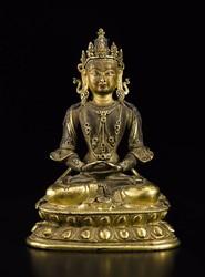 Amitabha Buddha: Amitayus (Sambhogakaya)