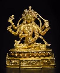 Guhyasamaja (Buddhist Deity): (Retinue Figure)