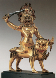 Begtse Chen (Buddhist Protector): Mistress of Life (consort)
