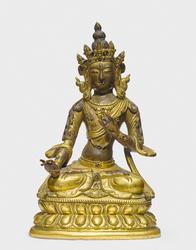 Sitatapatra (Buddhist Deity): (One face, two hands)
