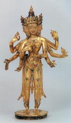 Kalachakra (Buddhist Deity): (Retinue Figures)