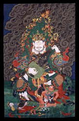 Direction Guardian (Buddhist Deity): Dhritarashtra (East)