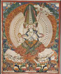 Sitatapatra (Buddhist Deity)