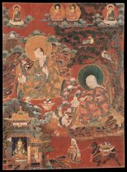 Arhat/Sthavira (Buddhist Elder): (multiple figures)