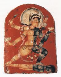 Chakrasamvara (Buddhist Deity): (Daka-Dakini Retinue Figure)