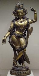 Avalokiteshvara (Bodhisattva & Buddhist Deity): Chintamani (Standing with Tree)