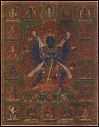 Chakrasamvara (Buddhist Deity): (Ghantapada Tradition)