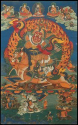 Worldly Protector (Buddhist): Dorje Setrab