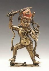 Achala (Buddhist Deity): Blue, Standing
