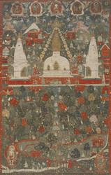 Stupa (Buddhist Reliquary): Swayambhunath