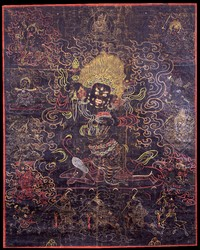 Mahakala (Buddhist Protector): Danda (Stick)