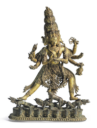 Siddha Lakshmi (Indian Goddess)