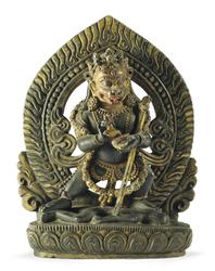 Simhamukha (Buddhist Deity): (Retinue Figure)