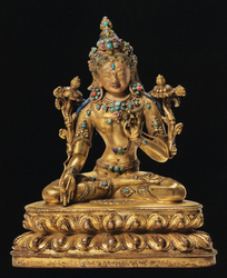 Vishvamata: (solitary figure)