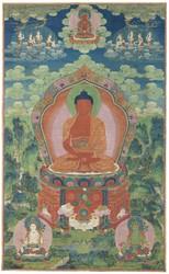 Medicine Buddha: Retinue Buddha