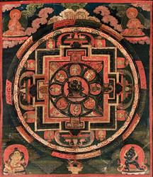 Trailokyavijaya (Buddhist Deity): (Sarvadurgati Tantra, Eight Mahadeva)
