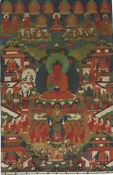 Amitabha Buddha: Pureland (Sukhavati)