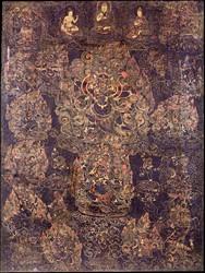 Mahakala (Buddhist Protector): Shadbhuja (Six-hands, Shangpa)