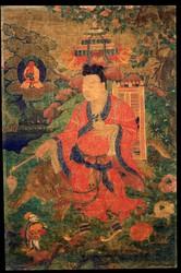 Arhat/Sthavira (Buddhist Elder): (Attendant) Dharmata