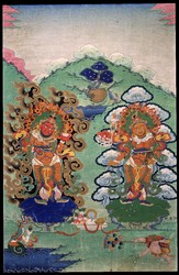 Direction Guardian (Buddist Deity): (multiple figures)