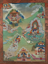 Direction Guardian (Buddist Deity): Vaishravana (North)