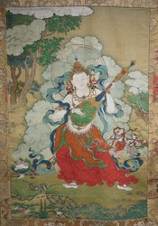 Direction Guardian (Buddist Deity): Dhritarashtra (East)