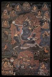 Mahakala (Buddhist Protector): Brahmarupa (Brahmin Form)