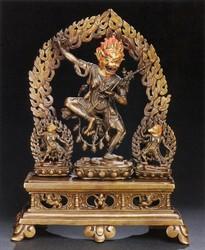 Simhamukha (Buddhist Deity): (Bari Lineage)