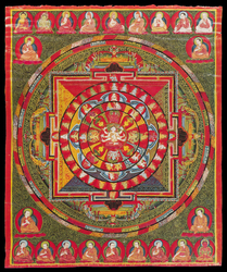Buddhist Deity: Pancha Raksha Main Page