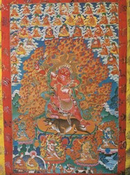 Yamari, Rakta (Buddhist Deity): (Virupa Lineage, 5 Deity)